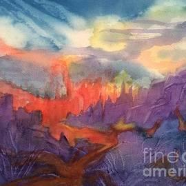 Ellen Levinson - Lava Flow Abstract