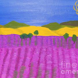 Irina  Afonskaya - Lavender field