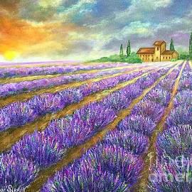 Viktoriya Sirris - Lavender Field