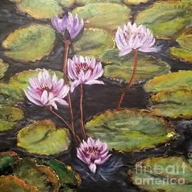 Katie Adkins - Lavender Lilies