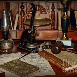 Paul Ward - Lawyer - A Lawyers Desk