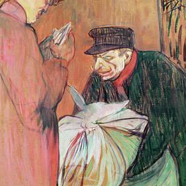 Le Blanchisseur de la Maison, 1894 - Henri de Toulouse-Lautrec