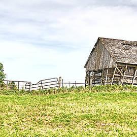 Scott Hansen - Leaning Iowa Barn