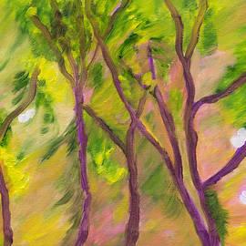 Meryl Goudey - Leaves Blowing in the Wind
