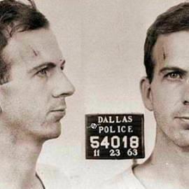 Tony Rubino - Lee Harvey Oswald Mug Shot 1931 Horizontal