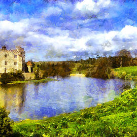 Jean-Marc Lacombe - Leeds Castle in Spring