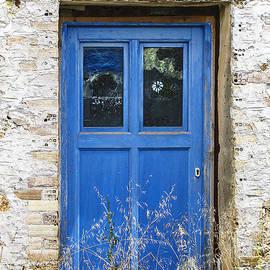 Kim Lessel - Left Artistic Blue Door