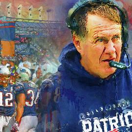 John Farr - Legend Bill Belichick New England Patriots