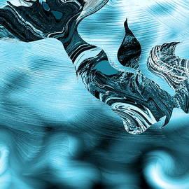 Abstract Alien Artist Stephen K - Legend of the Mermaid