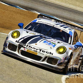 Blake Richards - Leh Keen And Cooper MacNeil Porche 911 TUDOR Championship