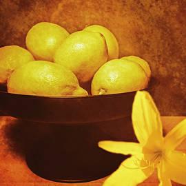 Kathy Franklin - Lemons and A Daylily