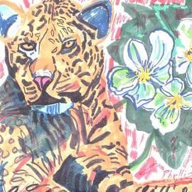 Phyllis Kaltenbach - Leopard and Skeleton Flower