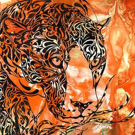 Sherry Shipley - Leopard on the Prowl