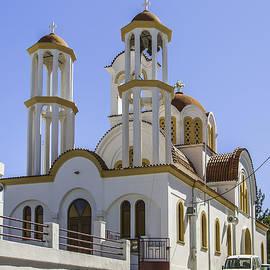 Antony McAulay - Lerapetra church from roadside