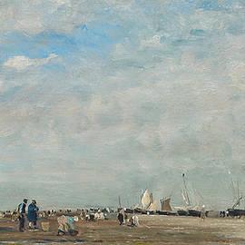Les ramasseurs de coquillages - Charles Francois Daubigny