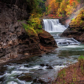 Mark Papke - Letchworth State Park Lower Falls