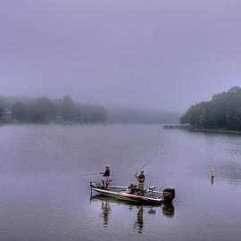 Reid Callaway - Lets Go Fishing Lake Oconee Fishing Art