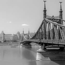 Justin Woodhouse - Liberty Bridge - Black and White