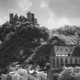 Teresa Mucha - Liebfrauenkirche and Schoenburg Castle B W