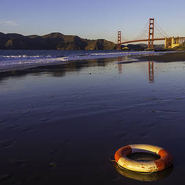 Life Ring And Golden Gate Bridge - Garry Gay