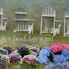 Jean Kirby - Lifes a Beach Take a Seat