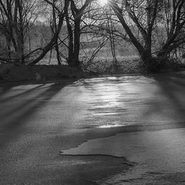 Leif Sohlman - Light on ice monochrome
