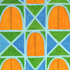 Heidi Capitaine - Lighted Arched Windows Pattern