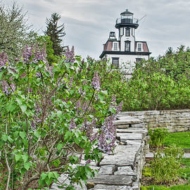 Joanne Shedrick - Lighthouse and Lilacs