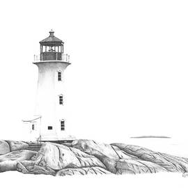 Patricia Hiltz - Lighthouse of Peggy