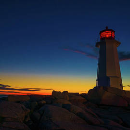 Andre Faubert - Lighthouse Sunset