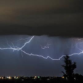 Karen Slagle - Lightning Over Amarillo
