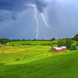 John Vose - Lightning Over Jenne Farm 2