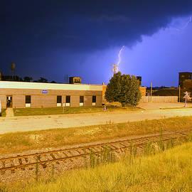 Lightning Strikes in Lancaster