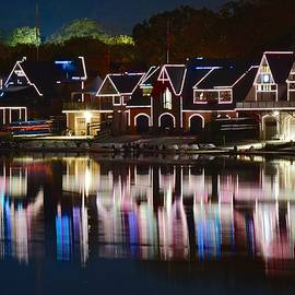 Frozen in Time Fine Art Photography - Lights of Boathouse Row