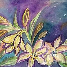 Ellen Levinson - Lilies and Buds
