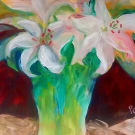 Patricia Taylor - Lilies in a Vase 2