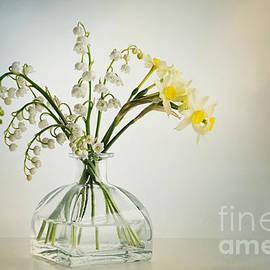 Ann Garrett - Lilies of the Valley in a Glass Vase
