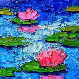 Ana Maria Edulescu - Lily Pond Impression 7