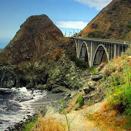 Joyce Dickens - Lime Creek Bridge Highway 1 Big Sur CA