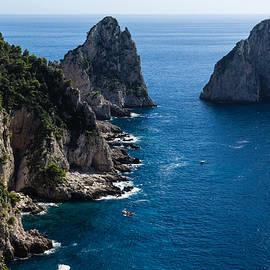 Georgia Mizuleva - Limestone Cliffs and Seastacks - a Capri Island Vacation