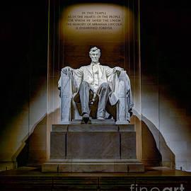 Jerry Fornarotto - Lincoln Memorial Statue