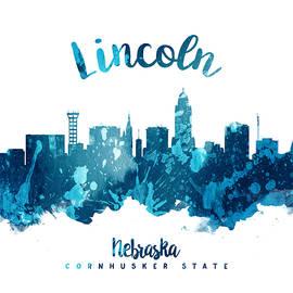 Lincoln Nebraska Skyline 27 - Aged Pixel