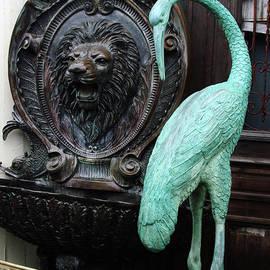 Georgia Sheron - Lion And Heron Ornaments