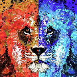 Lion Art - Majesty - Sharon Cummings - Sharon Cummings