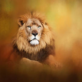 Michelle Wrighton - Lion - Pride of Africa I - Tribute to Cecil