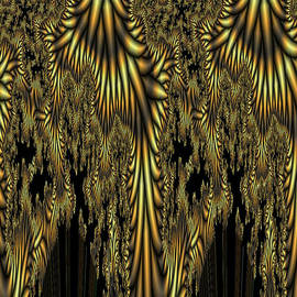 Digital Art Cafe - Liquid Gold