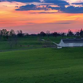 Bill Wakeley - Litchfield Hills Sunset