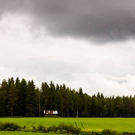 Jukka Heinovirta - Little Barn Under Stormy Skies