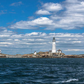 Brian MacLean - Little Brewster Island and Boston Lighthouse