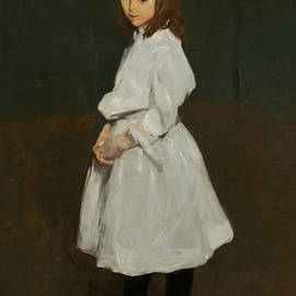 Little Girl in White - George Bellows